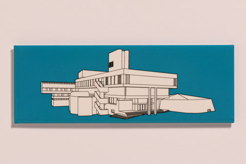 Lasdun fridge magnet