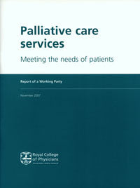 Palliative care services: meeting the needs of patients