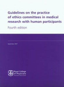 Guidelines on the practice of ethics committees in medical research with human participants
