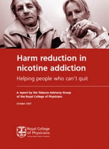 Harm reduction in nicotine addiction: helping people who can't quit