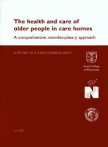 Health and care of older people in care homes: a comprehensive interdisciplinary approach