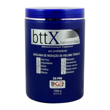 1Ka Brazilian Hair Treatment Bttx Volume Reduction Mask Hair System Blue 1Kg - 1Ka