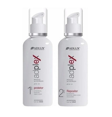 Adlux Brazilian Keratin Treatment Adplux Protector Replenisher Chemistry Anti Damage Treatment Kit 2x120ml - Adlux