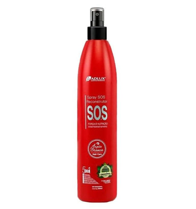 Adlux Brazilian Keratin Treatment SOS Reconstructor Argila Branca White Clay 5 in 1 Amazon Spray 300ml - Adlux
