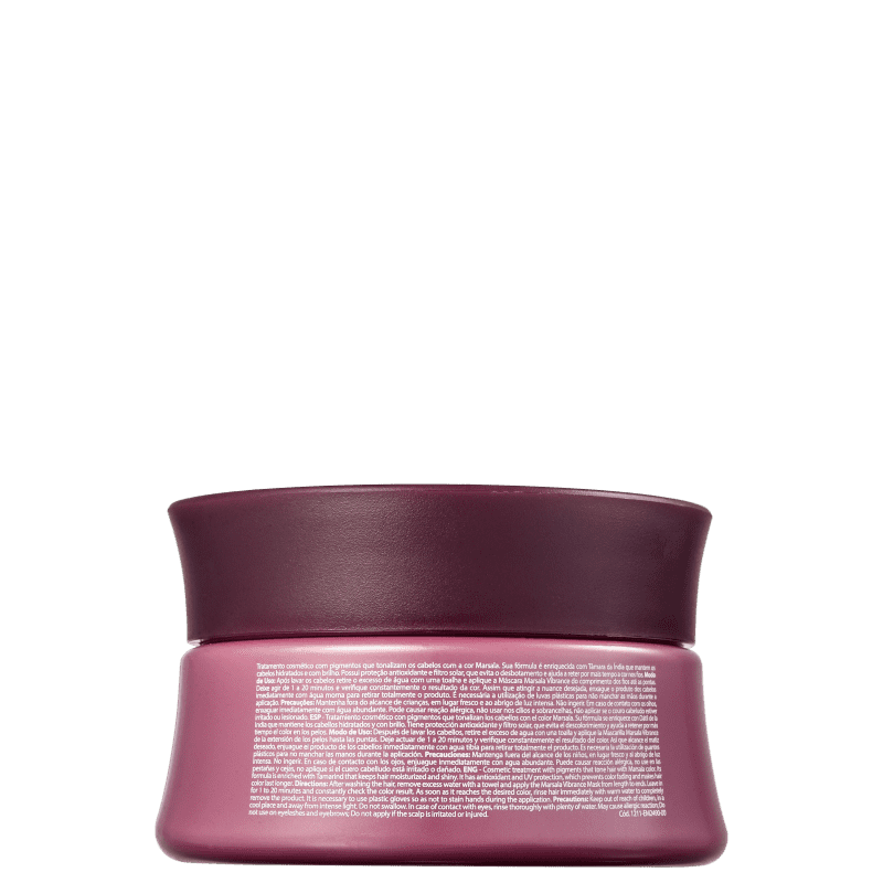 Marsala Vibrance Highlight Color - Hair Mask 300g - Amend