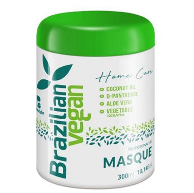 Beautybr Hair Mask Professional Brazilian Vegan Keratin Home Care Maintenance Mask 300ml - Beautybr