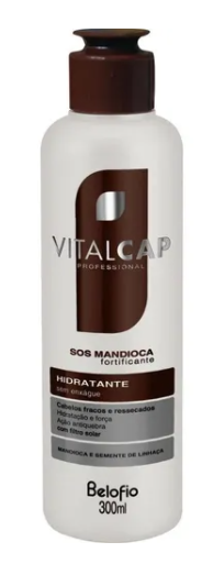 BeloFio Home Care Professional Moisturizer Vitalcap Sos Cassava Without Rinse 300ml - BeloFio