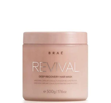 Braé Hair Mask Deep Recovery Revival High Impact Ojon Keratin Amino Acids Mask 500g - Revival