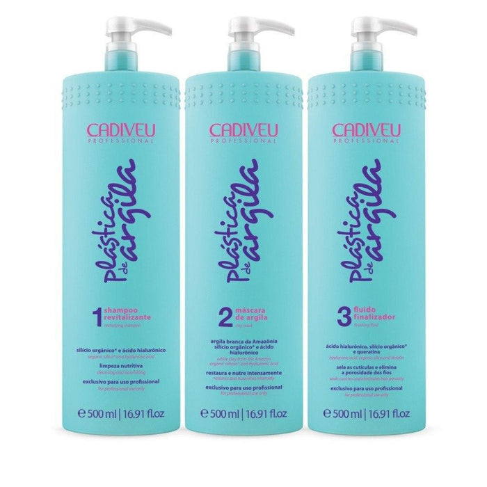 Cadiveu Brazilian Keratin Treatment Plastica de Argila 500ml - Cadiveu