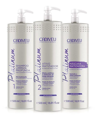 Cadiveu Brazilian Keratin Treatment Platinum Professional Kit - Cadiveu