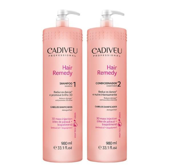 Cadiveu Hair Treatment Hair Remedy Professional Lavatory Kit 2x 890ml - Cadiveu