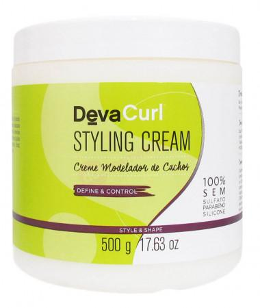 Styling Cream Stylizer Style & Shape Mask Curly Hair Treatment 500g - Deva Curl