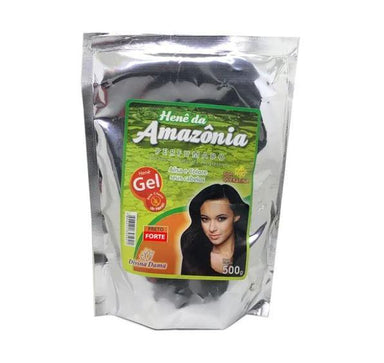 Divina Dama Brazilian Keratin Treatment Amazon Henê Gel Strong Black Straightening Henna Keratin 500g - Divina Dama