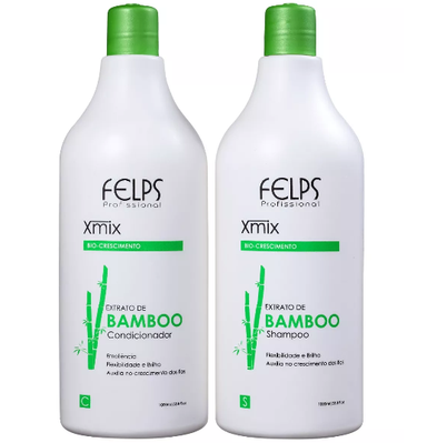 Felps Brazilian Hair Treatment Bamboo Extract Xmix Kit 2x1L - Felps