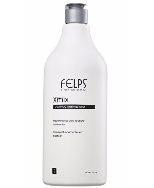 Felps Hair Treatment Xmix Anti Residue Shampoo 1000ml - Felps
