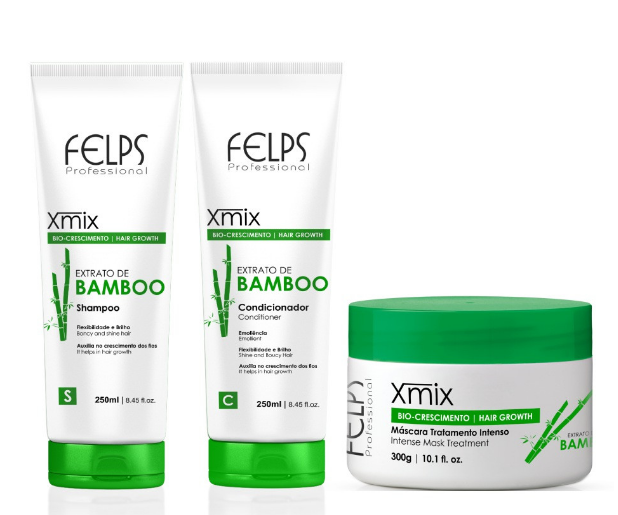 Felps Home Care Bamboo Extract Xmix Maintenance Kit 3 Products - Felps