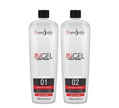 FioPerfeitto Brazilian Keratin Treatment Ingel Maxx LisoPlastia Progressive Brush 2x1000ml - FioPerfeitto