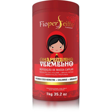 FioPerfeitto Hair Mask Botox Capillary Little Red Riding Hood Hair Mask 1kg - FioPerfeitto