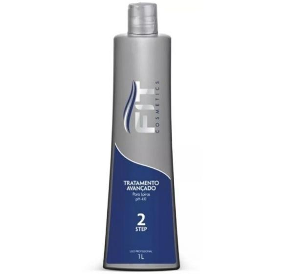 Fit Cosmetics Brazilian Keratin Treatment Brazilian Keratin Step 2 Advanced Hair Treatment for Blondes 1L - Fit Cosmetics