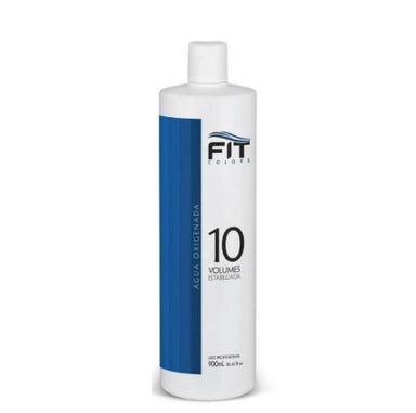 Fit Cosmetics Brazilian Keratin Treatment Macadamia Oil Super Blue OX 10 Volumes Hydrogen Peroxide 900ml - Fit Cosmetics