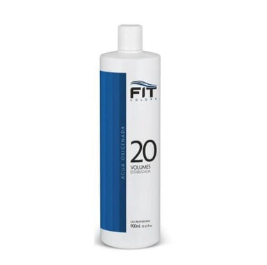Fit Cosmetics Brazilian Keratin Treatment Macadamia Oil Super Blue OX 20 Volumes Hydrogen Peroxide 900ml - Fit Cosmetics