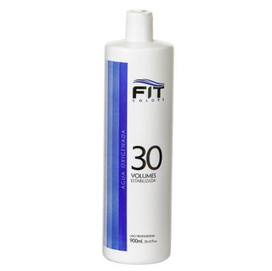 Fit Cosmetics Brazilian Keratin Treatment Macadamia Oil Super Blue OX 30 Volumes Hydrogen Peroxide 900ml - Fit Cosmetics