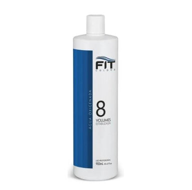 Fit Cosmetics Brazilian Keratin Treatment Macadamia Oil Super Blue OX 8 Volumes Hydrogen Peroxide 900ml - Fit Cosmetics