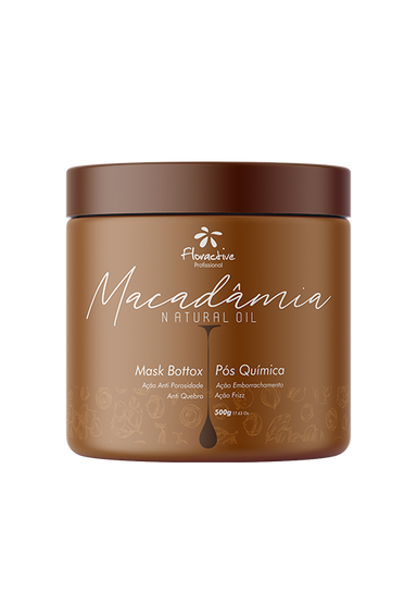 Floractive Brazilian Hair Treatment Intensive Mask SOS Bottox Macadamia Hair Natural Oil 500ml - Floractive