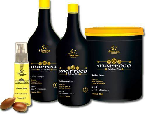 Floractive Brazilian Hair Treatment Kit Morocco Golden Plus - Floractive