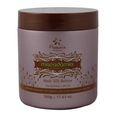 Floractive Brazilian Hair Treatment SOS Bottox Macadamia Mask Natural Oil 500ml - Floractive