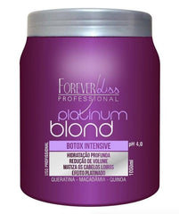 Forever Liss Brazilian Hair Treatment Platinum Blond Mask 1L - Forever Liss