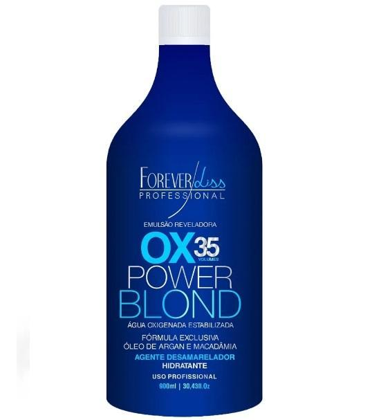 Forever Liss Brazilian Keratin Treatment Power Blond OX 35 Vol. 900ml - Forever Liss