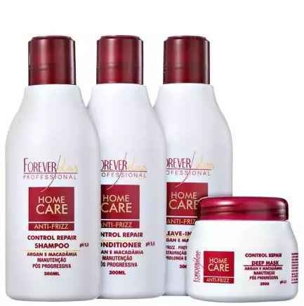 Forever Liss Home Care Professional Home Care Anti-Frizz Total Smooth Kit - Forever Liss