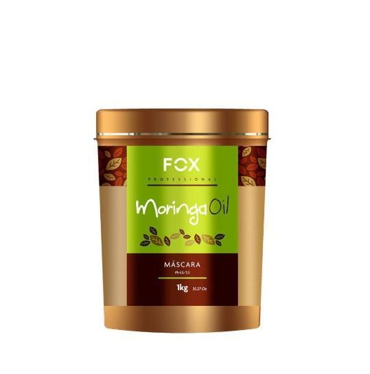 Fox Hair Mask Moringa Oil Moistuirizing Mask 1kg - Fox