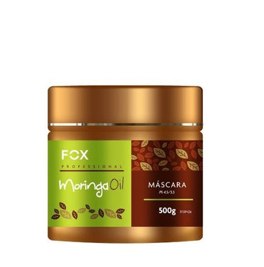 Fox Hair Mask Moringa Oil Moistuirizing Mask 500g - Fox
