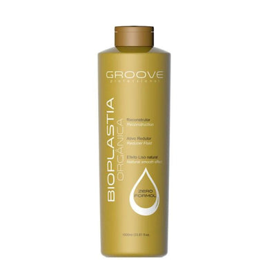 Groove Brazilian Keratin Treatment Organic Bioplasty Progressive Brazilian Blowout Hair Alignment 1000ml - Groove
