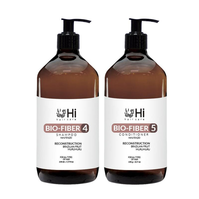 Hi Haircare Brazilian Keratin Treatment Care Bio Fiber Home Care Maintenance  Kit  - Hi Haircare