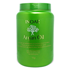 Inoar Hair Mask Argan Oil Intensive Treatment Hair Mask - Inoar
