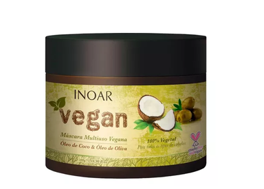 Inoar Hair Mask Vegetal Multi Vegan Mask 500g - Inoar