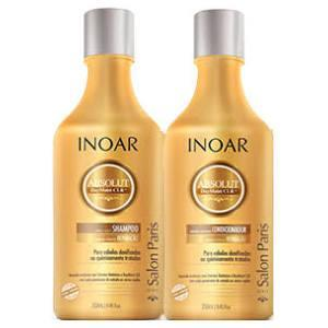 Inoar Home Care Absolut DayMoist CLR Hair Treatment Kit - Inoar