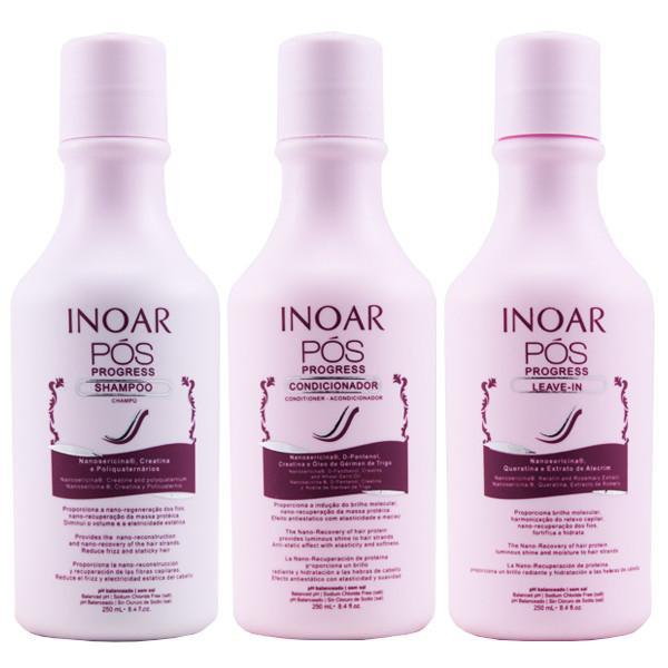 Inoar Home Care Pos Progress Maintenance Kit 3x250ml - Inoar