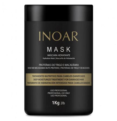 Inoar Mask Pro Mask Wheat Proteins and macadamia nuts - 1 kg - Inoar