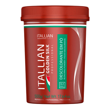 Itallian Hair Tech Itallian Bleach Powder Golden Silk - 500g - Itallian Hair Tech