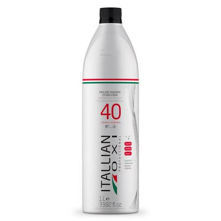 Discoloration OXI 40 Vol. Oxidant Stabilized Emusion 1L - Itallian Hair Tech