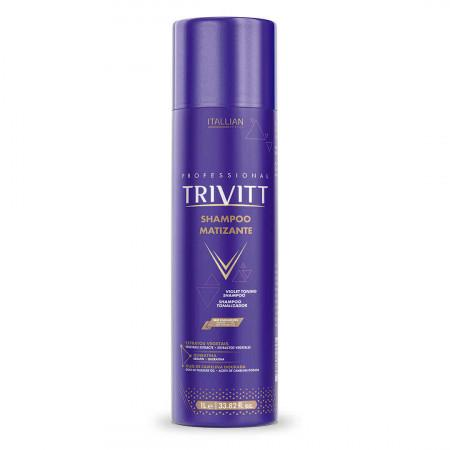 Keratin Trivitt Color Violet Blonde Toning Shampoo 1L - Itallian Hair Tech