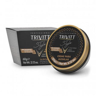 Itallian Hair Tech Itallian Trivitt Cream For Modeling Style 60gr - Itallian Hair Tech