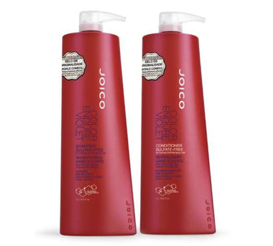 Joico Brazilian Keratin Treatment Color Endure Violet Tinting Neutralizing Blond Gray Treatment Kit 2x1L - Joico