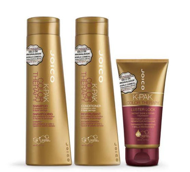 Joico Brazilian Keratin Treatment K Pak Color Therapy Revitalisant  African Manketti Argan Kit 3 Products - Joico