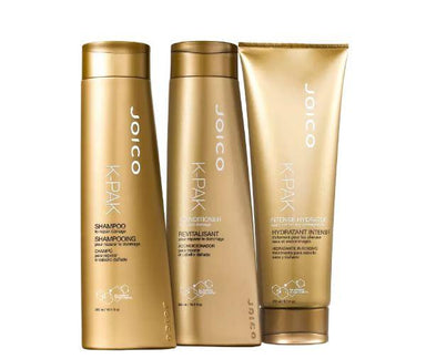 Joico Brazilian Keratin Treatment K-Pak Dry Hair Repair Damage Keratin Aloe Vitamin E Hydrator Kit 3 Prod. - Joico
