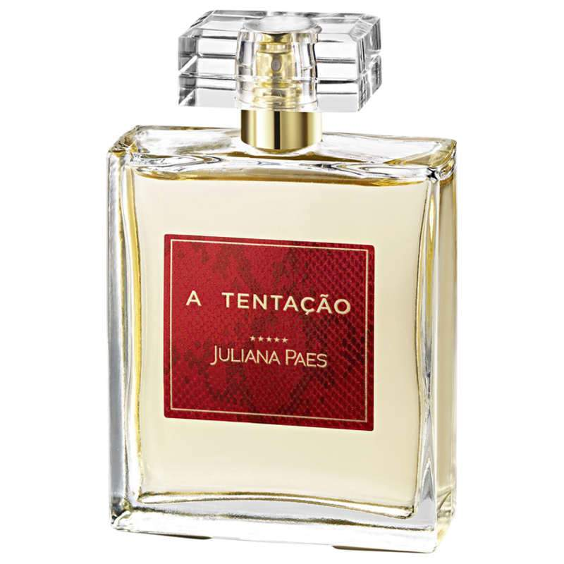 The Temptation Juliana Paes Eau de Cologne - Women's Perfume 100ml